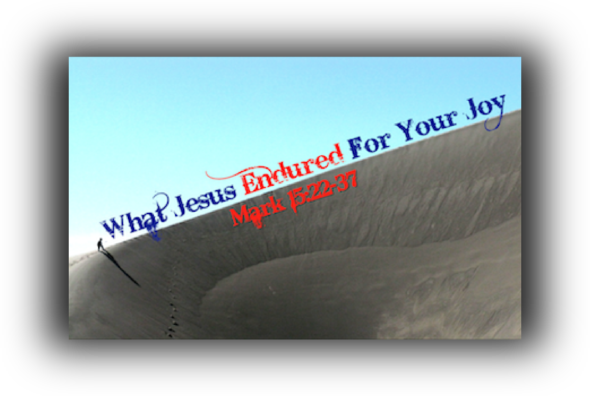 What Jesus Endured For Your Joy!
